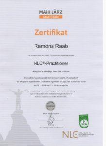 NLC Zertifikat Ramona Raab