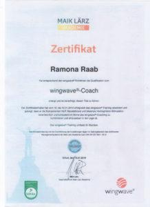 Wingwave Zertifikat Ramona Raab
