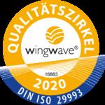 Wingwave Qualitätssiegel
